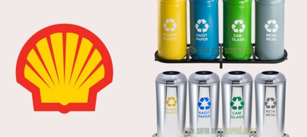 Shell Sıfır Atık Geri Dönüşüm Kutuları